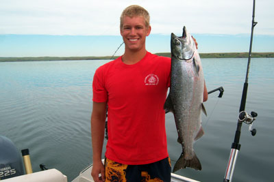 Lake Oahe offers world-class fishing for multiple species all year long.